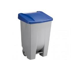 Sunware Basic vuilnisbak 60 ltr.blauw