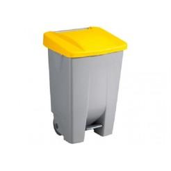 Sunware Basic vuilnisbak 60 ltr.geel