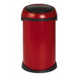 Brabantia Touch Bin deep red 50ltr
