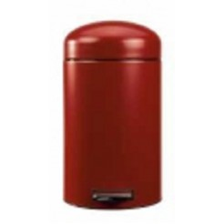 Brab retro bin deep red 12ltr