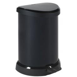Curver Decobin pedaalemmer 20 L zwart