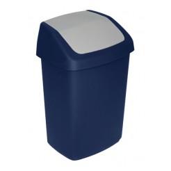 Curver afvalbak swing blauw 15L