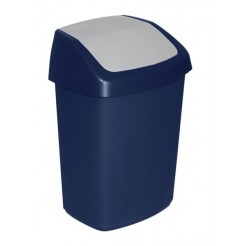 Curver afvalbak swing blauw 25L