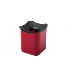 Mepal tafelafvalbakje cube rood